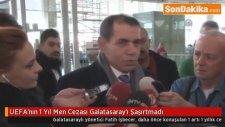 UEFA'nın 1 Yıl Men Cezası Galatasaray'ı Şaşırtmadı -Fatih İşbecer,