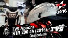 TVS Apache RTR 200 4V (2016) İnceleme - Moto Bike Expo 2016 - Dualvlog