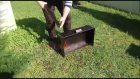 Portatif Davlumbazlı Kanatlı Mangal 60x35 Kara Mangal