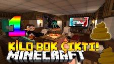 1 KİLO BOK ÇIKTI! - Minecraft AHMET AGA RESTAURANT OYUNU!
