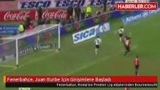 Fenerbahçe,  Iturbe İçin Girişimlere Başladı