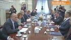Mevlüt  Çavuşoğlu, Yunanistan Dışişleri Bakanı Kocias ile Biraraya Geldi