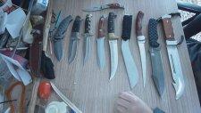 Bıçaklarını Tanıtan Koleksiyoner
