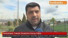 Denizlispor Teknik Direktörü Koray Palaz