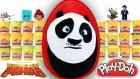 Dev Sürpriz Yumurta Kung Fu Panda Oyun Hamuru Play Doh EvcilikTV