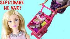 Barbie Alışveriş Sepetinde Neler Var   Barbie  izle   EvcilikTV