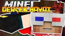 Minecraft'ta Gerçek Hayat! (Arkadaşlarımın Bacaklarını Kopardı) - Ahmet Aga