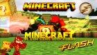 The Flash Şans Blokları! (Reverse Flash Vs Flash) - Minecraft Süper Kahraman Şans Blokları Yarışı! -