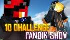 Kurnaz Pandik - Minecraft 10 Challenge 1 Haritada