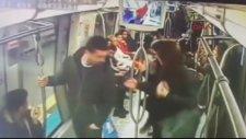 Metrodaki Bomba Şakası Kamerada