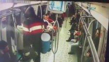 Karakolda Biten Bomba Şakası Kamerada