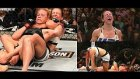 Miesha Tate ve Holly Holm UFC Kadınlar Unvan Karşılaşması