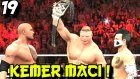 Wwe 2k16 Kariyer Kötü | Wrestlemania Dünya Kemer Maci | 19.bölüm | Türkçe Oynanış | Ps4