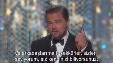 Leonardo DiCaprio - Oscar Ödülü Konuşması (2016 - Altyazılı)