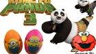 Kung Fu Panda 3 Play Doh Oyun Hamuru ile Süpriz Yumurta açılımı (Minions Oyun Hamuru karakteri)