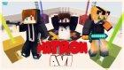 [TROLL] Pandik Düşerken Muza Basıp Kolunu Vurarak Güldüğü İçin Öldü - Minecraft Patron Avı