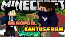 Deadpool Simgesi & Kaktüs Tarlası - Legends İn Minecraft - Bölüm 25 - Azizgaming35