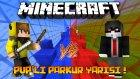 Ismetrg Vs Kadir ! Başlara Oturduk ! (Minecraft Red Vs Blue Pvp'li Parkur Yarışı) - İloveminecraft