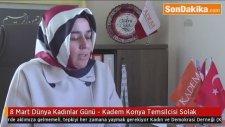 Kadem Konya Temsilcisi Solak - 8 Mart Dünya Kadınlar Günü
