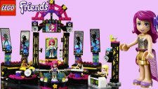 Lego Friends Pop Star Tour Bus 41106 | Lego Friends Oyuncakları | EvcilikTV