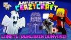 Türkçe Minecraft | Craziest Craft | Lanetli Ruhların Dünyasına Gidiş Ve Facecam! - Bölüm 15 - tto