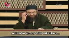 Cübbeli Ahmet Hoca İtikad Dersleri - Allah (c.c) İzafi (Fiili) Sıfatları