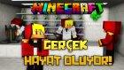 Minecraft GERÇEK HAYAT OLUYOR! - KORKUNÇ BLOKLARLA KAPLI LABORATUVAR!