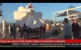 Özgecan Aslan Parkındaki Balerin Heykellerinin Sökülmesi