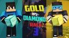Minecraft : Gold vs Diamond Race V3 w/Yağız- Barış Oyunda
