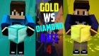 Minecraft : Gold vs Diamond Race V4 - Kazanan Yok! w/Aziz- Barış Oyunda