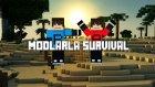 Minecraft : Modlarla Survival - Bölüm 1 # Havalı Ev- Barış Oyunda