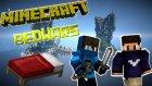 Aziz Çıldırdı! - Minecraft Bedwars - Yatak Savaşları W/azizgaming- Barış Oyunda