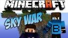 Aziz Düşme! - Minecraft Takımlı Sky Wars - Heyecandan Kılıç Atmak? - Baris Oyunda