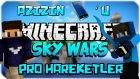 AZİZİN TELEFONU? - Minecraft Sky Wars - Gökyüzü Savaşları w/AzizGaming- Barış Oyunda