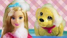 Barbie Köpeği Tafy'i Yıkıyor   Barbie izle   EvcilikTV