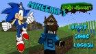 Basit Sonic Logosu! - Legends İn Minecraft - Bölüm 12 - Baris Oyunda