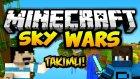 Bunlar Psikopat! - Minecraft Takımlı Sky Wars W/oyunkonsolu- Barış Oyunda