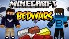 Çok Basit! - Minecraft Bedwars W/azizgaming - Baris Oyunda