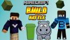 Çöp Kutusu & Su Aygırı - Build Battle - Minecraft Yapı Yapma Savaşı - Baris Oyunda