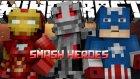 EN GÜÇLÜSÜ VOID CRAWLER! - Minecraft Smash Heroes w/AzizGaming- Barış Oyunda