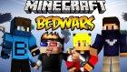 Hızlı Oyun! - Minecraft Bedwars W/azizgaming,ahmet Aga,türkçe Takıntılı Oyuncu- Barış Oyunda