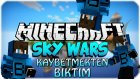 KAYBETMEKTEN BIKTIM! - Minecraft Sky Wars - Gökyüzü Savaşları- Barış Oyunda