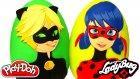 Mucize Uğur Böceği İle Kara Kedi 2 Süpriz Yumurta Oyun Hamuru - Toki Doki Mlp Goku