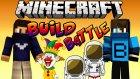Palyaço & Astronot - Build Battle - Minecraft Yapı Yapma Savaşı - Baris Oyunda