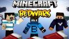 Sıkı Mücadele! - Minecraft Bedwars W/azizgaming,oyunkonsolu - Baris Oyunda