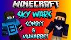 Sohbet & Muhabbet - Minecraft Sky Wars - Gökyüzü Savaşları W/azizgaming- Barış Oyunda