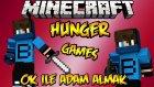 SOLO SG! - Minecraft Hunger Games - Uzun Kapışma!- Barış Oyunda