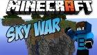 SOLODA TAKIM OLMAK? - Minecraft Sky Wars - Gökyüzü Savaşları- Barış Oyunda