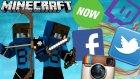 Sosyal Medya Hesaplarım! - Hunger Games - Minecraft Açlık Oyunları- Barış Oyunda