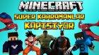 Süper Kahramanlar Birbirine Giriyor! - Minecraft Smash Heroes W/azizgaming- Barış Oyunda